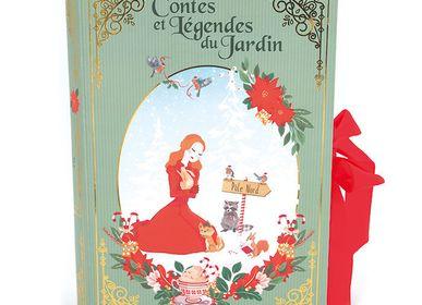 Accessoires thé et café - Coffret cadeau - Contes et Légendes du Jardin - Tome 1 : hiver - LE JARDIN DE MADEMOISELLE