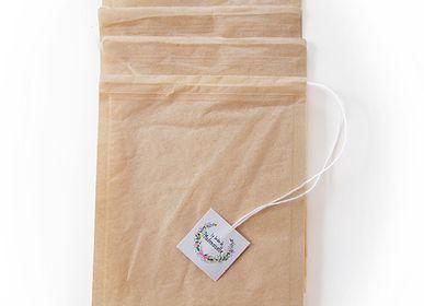 Accessoires thé et café - Boîte de 50 filtres en papier jetables - LE JARDIN DE MADEMOISELLE
