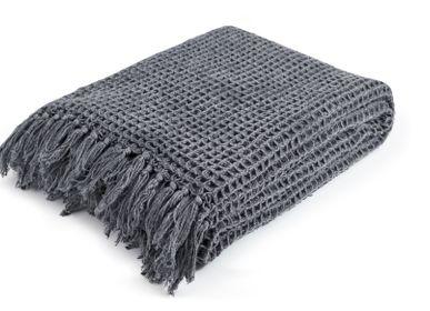 Throw blankets - Waffle - Plaid - blanket  - MAGMA HEIMTEX