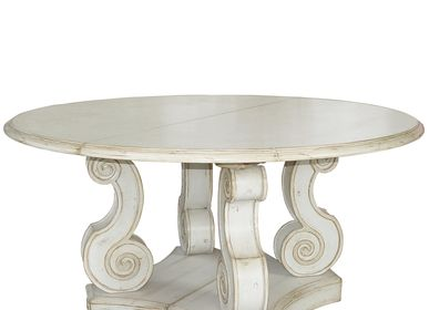 Dining Tables - Round baroque table - REF 707 - MOISSONNIER