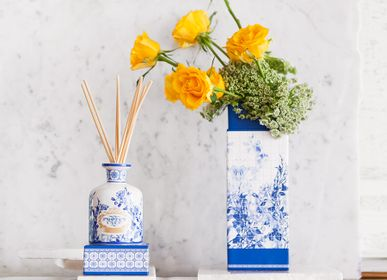 Scent diffusers - Portus Cale Gold&Blue Fragranced Diffuser - 100ml and 250ml - CASTELBEL