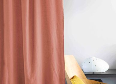 Curtains and window coverings - Curtain stone washed - LA CERISE SUR LE GÂTEAU