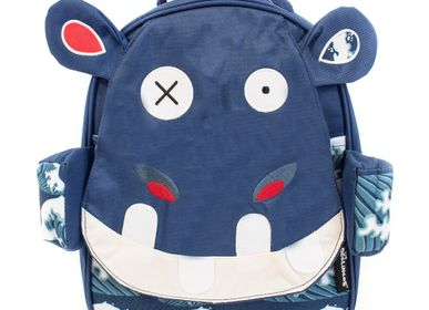 Bags and backpacks - Backpack 32cm Hippipos the hippo - LES DEGLINGOS