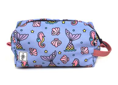 Papeterie bureau - Sirènes avec bracelet rose Pencil Case Clutch Pouch  - THE LUNCHBAGS