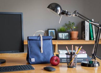 Gifts - Blue Plus with Beige Strap - THE LUNCHBAGS