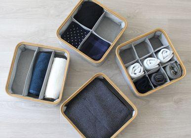 Boîtes de rangement  - KIM Boîte de rangement avec couvercle - GUDEE