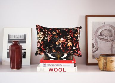 Fabric cushions - MAGICAL BUNNY velvet cushion - MY FRIEND PACO