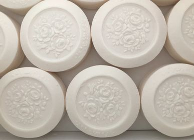 Soaps - Round flowery 75g - peony aroma - MARIE PAPOTE