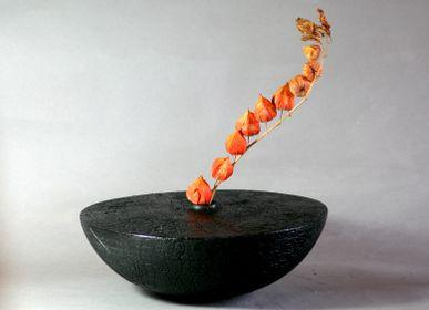 Vases - Vase - Galet 3 - LE BOIS D'YLVA CREATION CRAKŬ