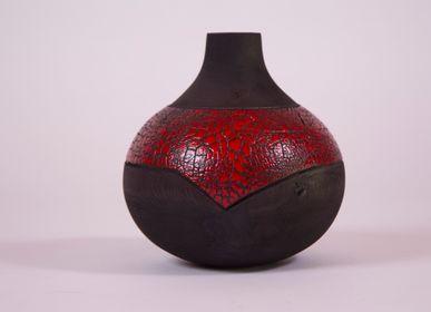Objets de décoration - Vase Joufflu - LE BOIS D'YLVA CREATION CRAKŬ