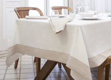 Table linen - Gaia tablecloth linen - BASSOLS