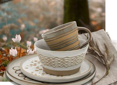 Pottery - Stoneware dinnerware set - SAPOTA GROUP
