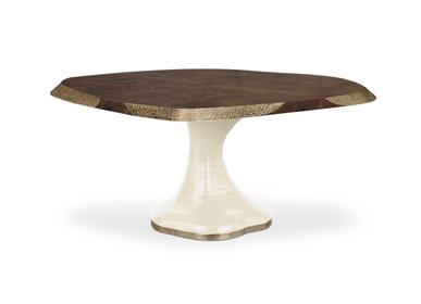 Tables Salle à Manger - Table de salle à manger PLATEAU II - CAFFE LATTE