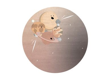 Decorative objects - IV Planets Round Rug - COVET HOUSE