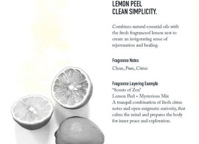 Fragrance for women & men - Lemon Peel      - SHOLAYERED FRAGRANCE