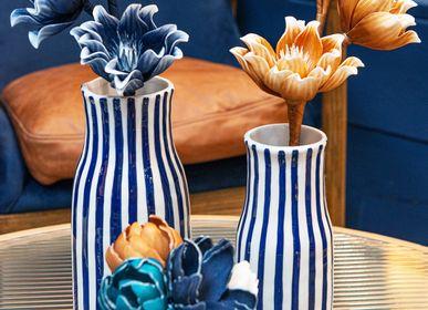 Vases - vases lignes bleues - AMADEUS