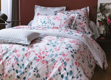 Other bath linens - Sofia cotton satin bed linen - TRADITION DES VOSGES