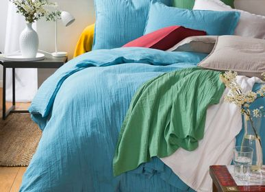 Bed linens - Cotton gauze bed linen - TRADITION DES VOSGES