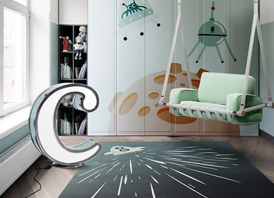 Design carpets - THUNDER ROCKET RUG - CIRCU