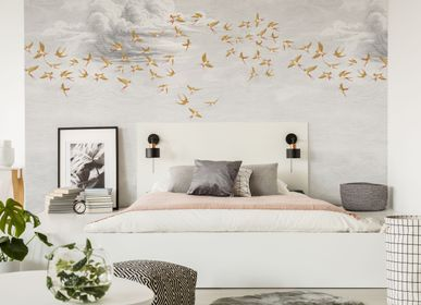 Other wall decoration - Wallpanel  Swallow Cloud Ambre - PAPERMINT