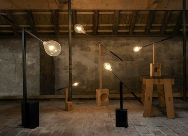 Floor lamps - bulb bulb lamps - THOMAS EYCK