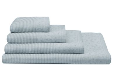 Bath towels - Lula Glacier Collection - LE JACQUARD FRANCAIS