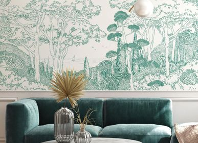 Other wall decoration - Wallpanel Toscane Line Emeraude - PAPERMINT