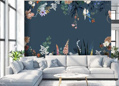 Other wall decoration - Wallpanel Lewis Bleu Minéral - PAPERMINT