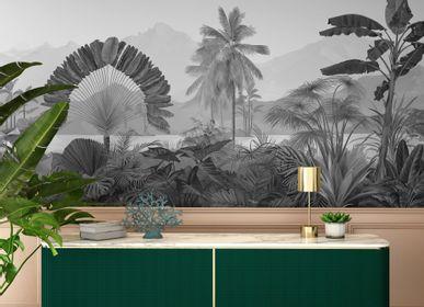 Autres décorations murales - Fresque Amazonia Grisaille - PAPERMINT
