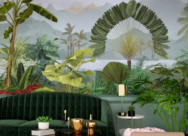 Other wall decoration - Wallpanel Amazonia Naturel - PAPERMINT
