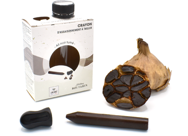 Delicatessen - Seasoning pencil single boxet  -  Smoked Black garlic - OCNI FACTORY