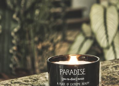 Candles - Soy candle - Scent : Warm Cashmere - MY FLAME LIFESTYLE