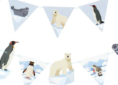 Birthdays - Polar Animals Garland - Recyclable - ANNIKIDS