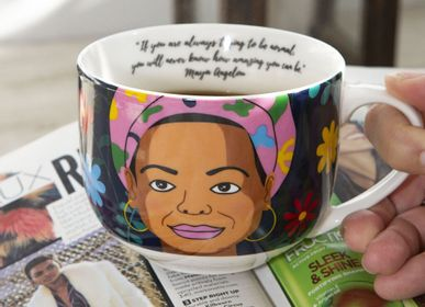 Tea and coffee accessories - Maya Angelou Mug - KIKKERLAND