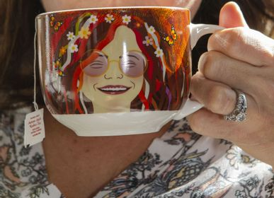 Tea and coffee accessories - Janis Joplin Mug - KIKKERLAND