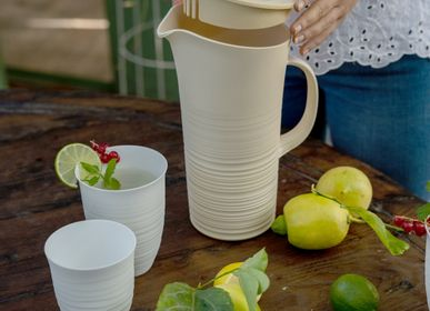 Carafes - PITCHER WITH LID - GUZZINI