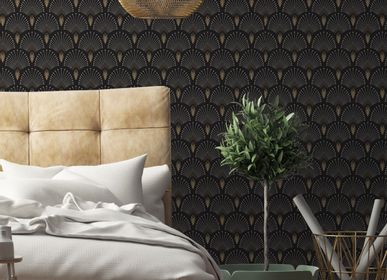 Other wall decoration - Wallpaper 1925 Gris Anthracite - PAPERMINT