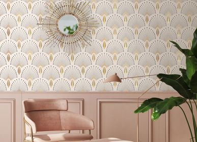 Other wall decoration - Wallpaper 1925 Beige Doré - PAPERMINT