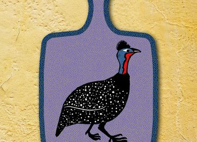 Table mat - Guineafowl Cutting Boards - ZOOH