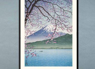 Poster - Japanese print landscape Nishiizu Kisho from Kawase Hasui ready to be framed 30x40 cm - BILLPOSTERS