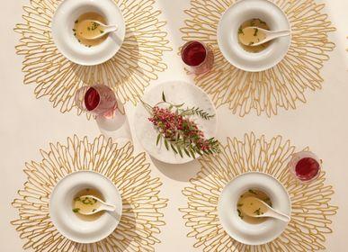 Linge de table textile - Set de Table et Dessous de Verre BLOOM - CHILEWICH