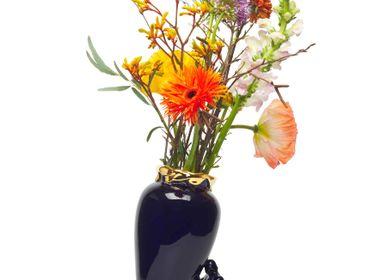 Vases - Golden Super Hero Vase - JASMIN DJERZIC