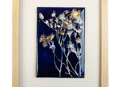 Unique pieces - GRASSES - Painting - A.D CRÉATION - ANNE DE LA FORGE
