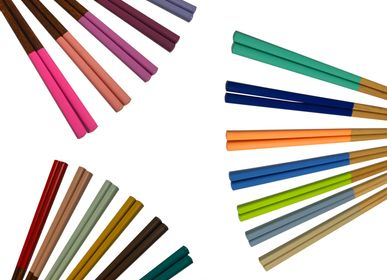 Couverts de service - 7days 7colors baguettes (ensemble de 7 paires) - HASHIFUKU