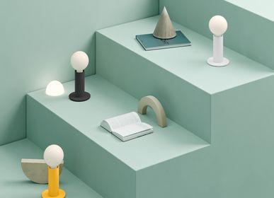 Lampes à poser - SOL Lampe Jaune Mangue Opaque - EDGAR