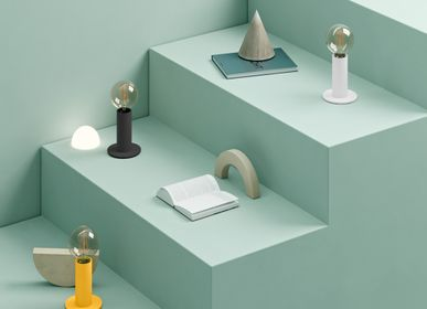 Table lamps - SOL Lamp Mango Yellow - EDGAR