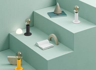 Lampes à poser - SOL Lampe Jaune Mangue - EDGAR