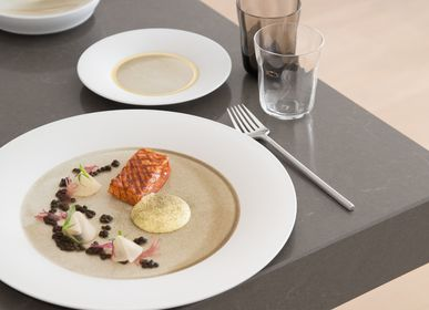 Everyday plates - Silent Brass dinner plate - HERING BERLIN