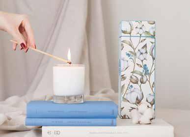 Candles - Castelbel Cotton Flower Candle - CASTELBEL