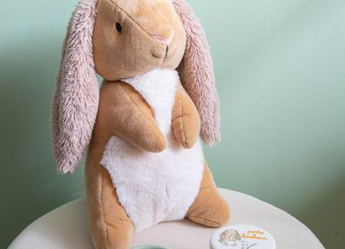 Soft toy - Peluche lapin Pierrot  - AMADEUS LES PETITS